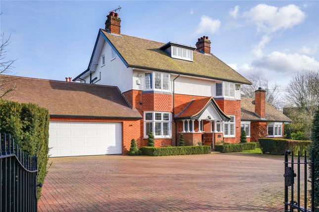 Thumbnail Detached house for sale in Oakfield Road, Ashtead, Surrey