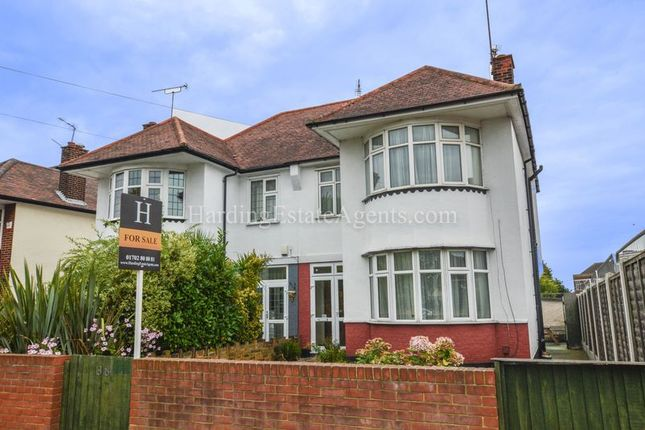 Thumbnail Semi-detached house for sale in Hobleythick Lane, Westcliff-On-Sea, Essex