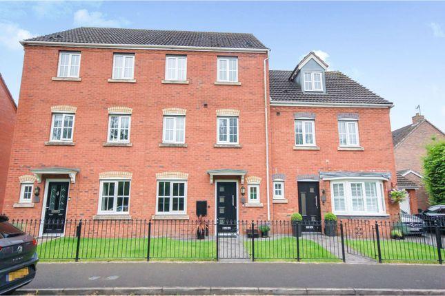 Thumbnail Town house for sale in Kennington Oval, Trentham Lakes, Stoke-On-Trent