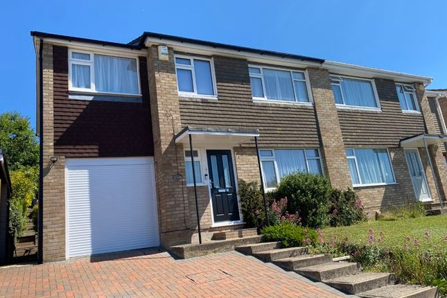 Thumbnail Semi-detached house for sale in Kestrel Close, Downley, High Wycombe