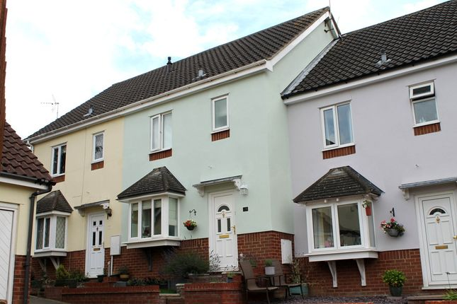 Thumbnail Terraced house for sale in Ryders Way, Rickinghall, Diss