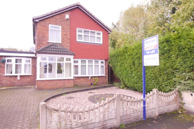 Thumbnail Detached house to rent in Mersey Close, Hindley Green, Wigan