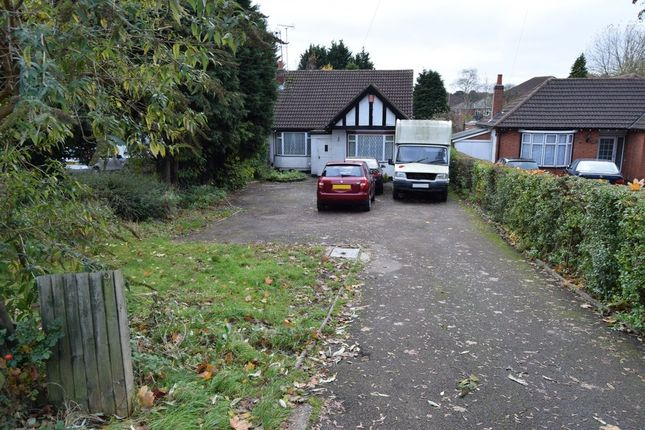 Thumbnail Semi-detached bungalow for sale in Scraptoft Lane, Leicester