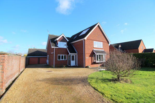 Thumbnail Detached house for sale in Wood Lane, Swardeston, Norwich