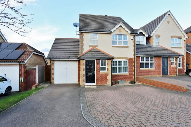 Thumbnail Semi-detached house for sale in Caspian Way, Swanscombe