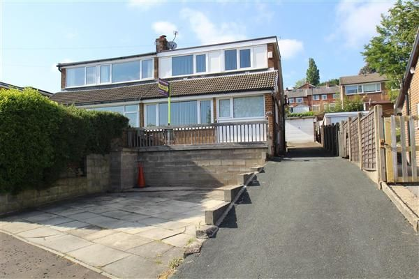 Thumbnail Semi-detached house for sale in Prospect Avenue, Pye Nest, Halifax