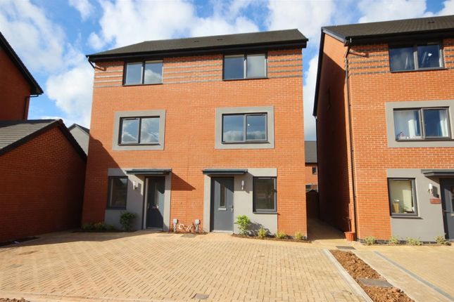 Thumbnail Town house to rent in Elmores Well Avenue, Tithebarn, Exeter