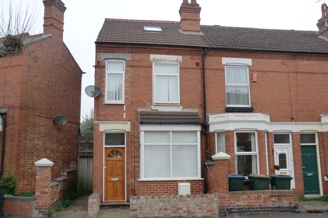 Thumbnail End terrace house to rent in Hugh Road, Stoke, Coventry