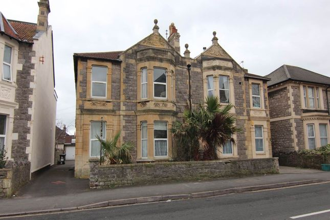 Thumbnail Flat to rent in Walliscote Road, Weston-Super-Mare, North Somerset
