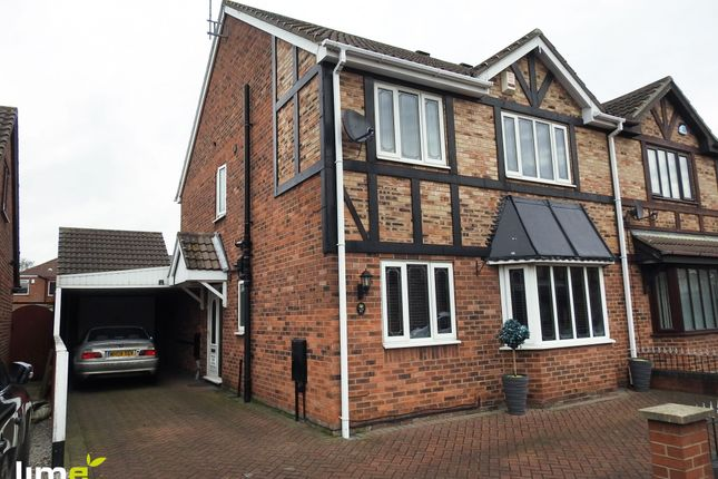 Thumbnail Semi-detached house to rent in Ashdene Close, Willerby