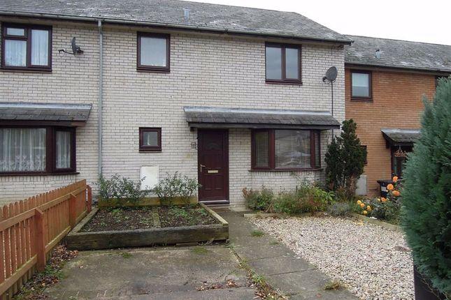 Thumbnail Terraced house to rent in 172, Lon Dolafon, Vaynor, Newtown, Powys