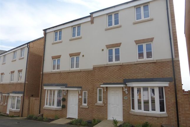 Thumbnail Terraced house to rent in Roman Road, Little Stanion, Corby