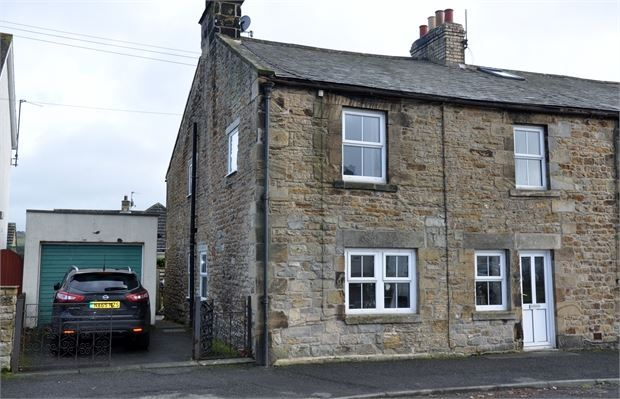 Thumbnail End terrace house for sale in Church Lane, Wark