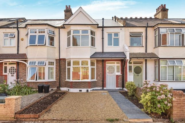 Thumbnail Terraced house for sale in Salisbury Gardens, Wimbledon