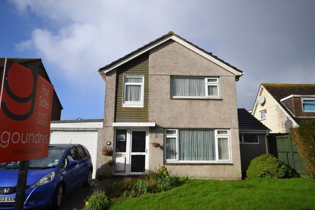 Thumbnail Detached house for sale in Polstain Road, Threemilestone, Truro
