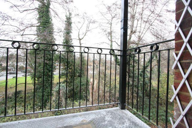 Balcony of Nugents Court, St. Thomas Drive, Pinner HA5