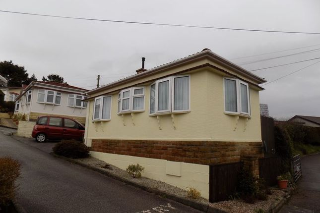 Thumbnail Mobile/park home for sale in Little Trelower Park, Trelowth, St Austell
