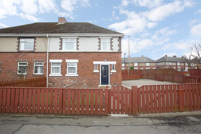 Thumbnail Semi-detached house for sale in Green Lane, Dudley, Cramlington