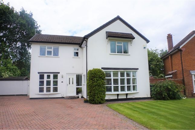 Thumbnail Detached house for sale in Silverdale Road, Gatley, Cheadle
