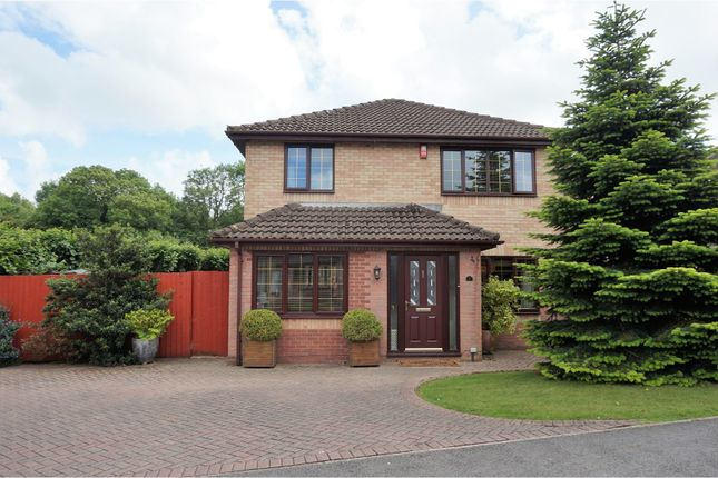 Thumbnail Detached house for sale in Bryn Creigiau, Groesfaen, Pontyclun