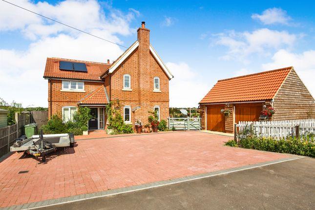 Thumbnail Detached house for sale in Dereham Road, Garvestone, Norwich
