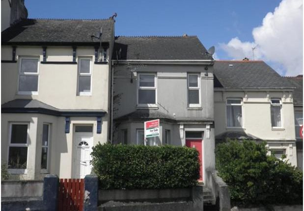 Thumbnail Terraced house to rent in Oakfield Terrace Road, Plymouth