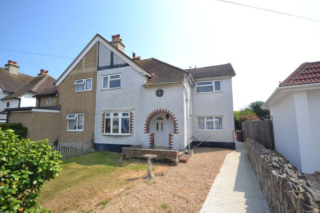 Thumbnail Semi-detached house for sale in Beach Road, Selsey