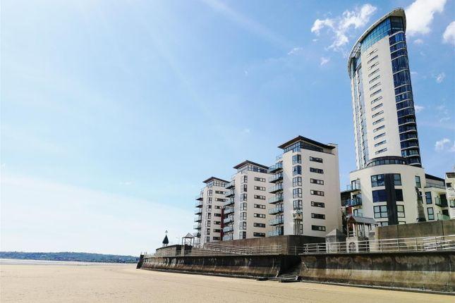 Thumbnail Flat for sale in Meridian Bay, Trawler Road, Marina, Swansea