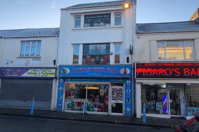 Thumbnail Retail premises for sale in Oxford Street, Swansea
