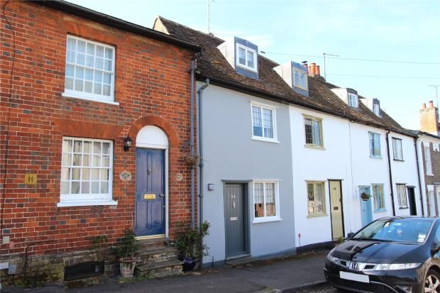 2 bed terraced house for sale in Castle Street, Saffron Walden, Essex