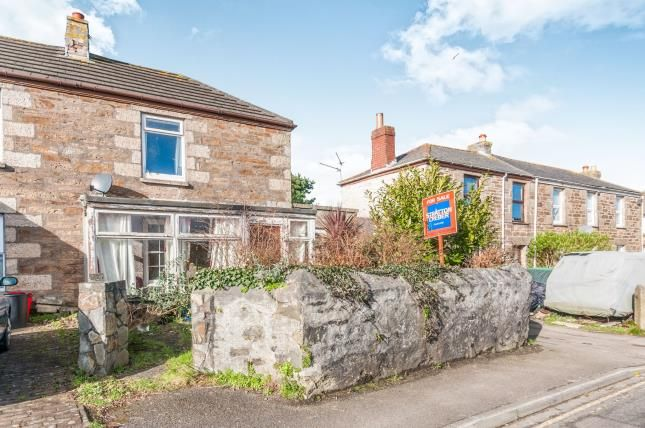 Thumbnail Semi-detached house for sale in Illogan Highway, Redruth, Cornwall
