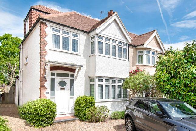 Thumbnail Semi-detached house to rent in Fairfax Road, Teddington