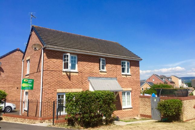 Detached house for sale in Long Meadow, North Cornelly, Bridgend