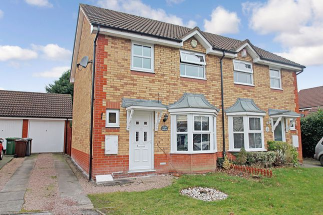 Thumbnail Semi-detached house for sale in Witham Croft, Solihull