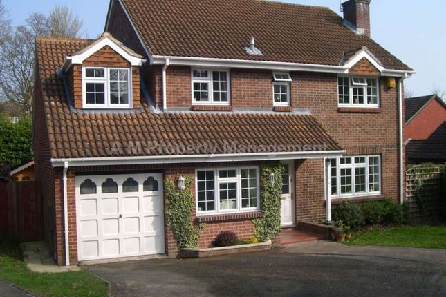 Thumbnail Detached house to rent in Goodliffe Gardens, Purley, Reading