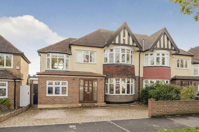 Thumbnail Semi-detached house for sale in Kings Drive, Surbiton