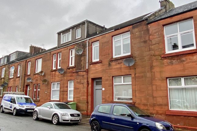 Thumbnail Flat for sale in King Edward Street, Alexandria, West Dunbartonshire
