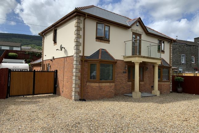 Thumbnail Detached house for sale in Pond Row, Abercanaid, Merthyr Tydfil