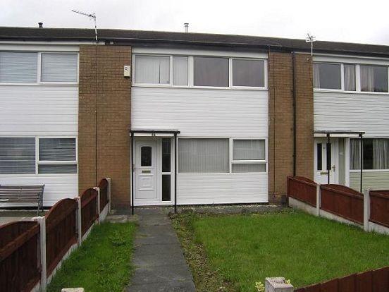 Thumbnail Town house to rent in Shireburn Avenue, Tong Fold, Bolton