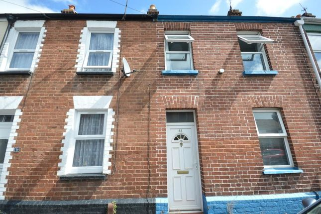 Thumbnail Terraced house to rent in Oxford Street, St Thomas, Exeter