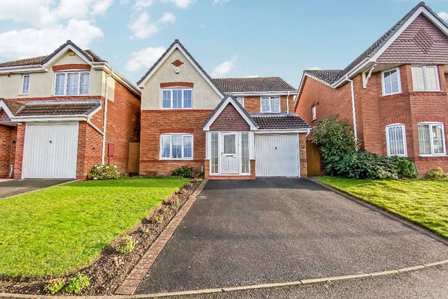 Thumbnail Detached house for sale in View Point, Tividale, Oldbury