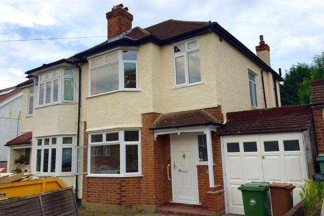 Thumbnail Semi-detached house to rent in Waverley Avenue, Sutton