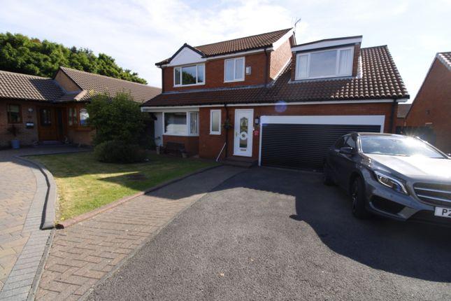 Thumbnail Detached house for sale in Thornbury Avenue, Seghill, Cramlington