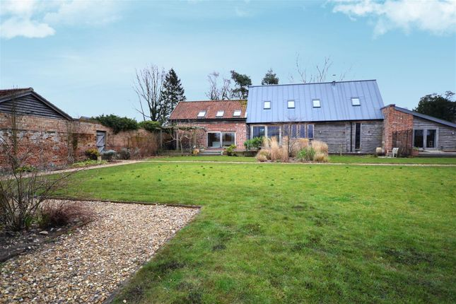 Thumbnail Barn conversion for sale in Stoke Holy Cross, Norwich