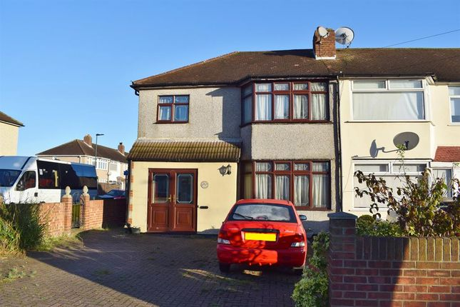 Thumbnail End terrace house to rent in Tyrell Avenue, Welling, Kent