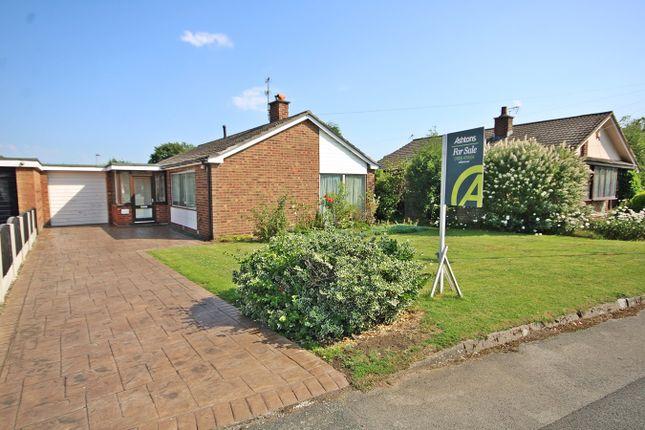 Thumbnail Detached bungalow for sale in Meadow Lane, Fearnhead, Warrington
