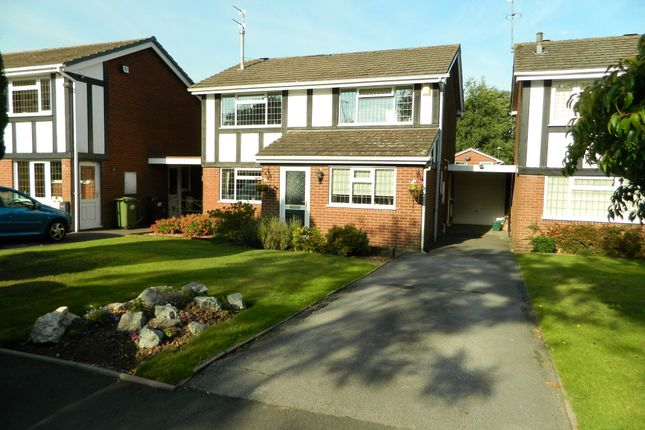 Thumbnail Detached house for sale in Woodcote Road, Tettenhall, Wolverhampton