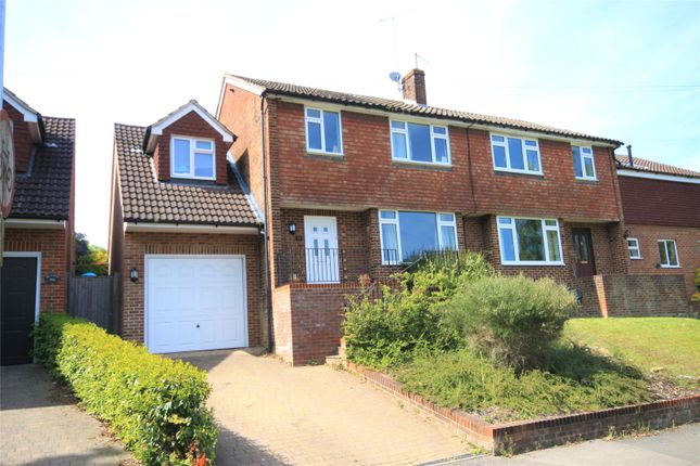 Thumbnail Semi-detached house to rent in Robyns Way, Sevenoaks, Kent