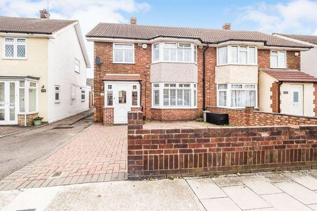Thumbnail Semi-detached house for sale in Mungo Park Road, Rainham