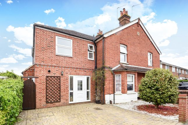 Thumbnail End terrace house for sale in Loop Road, Woking